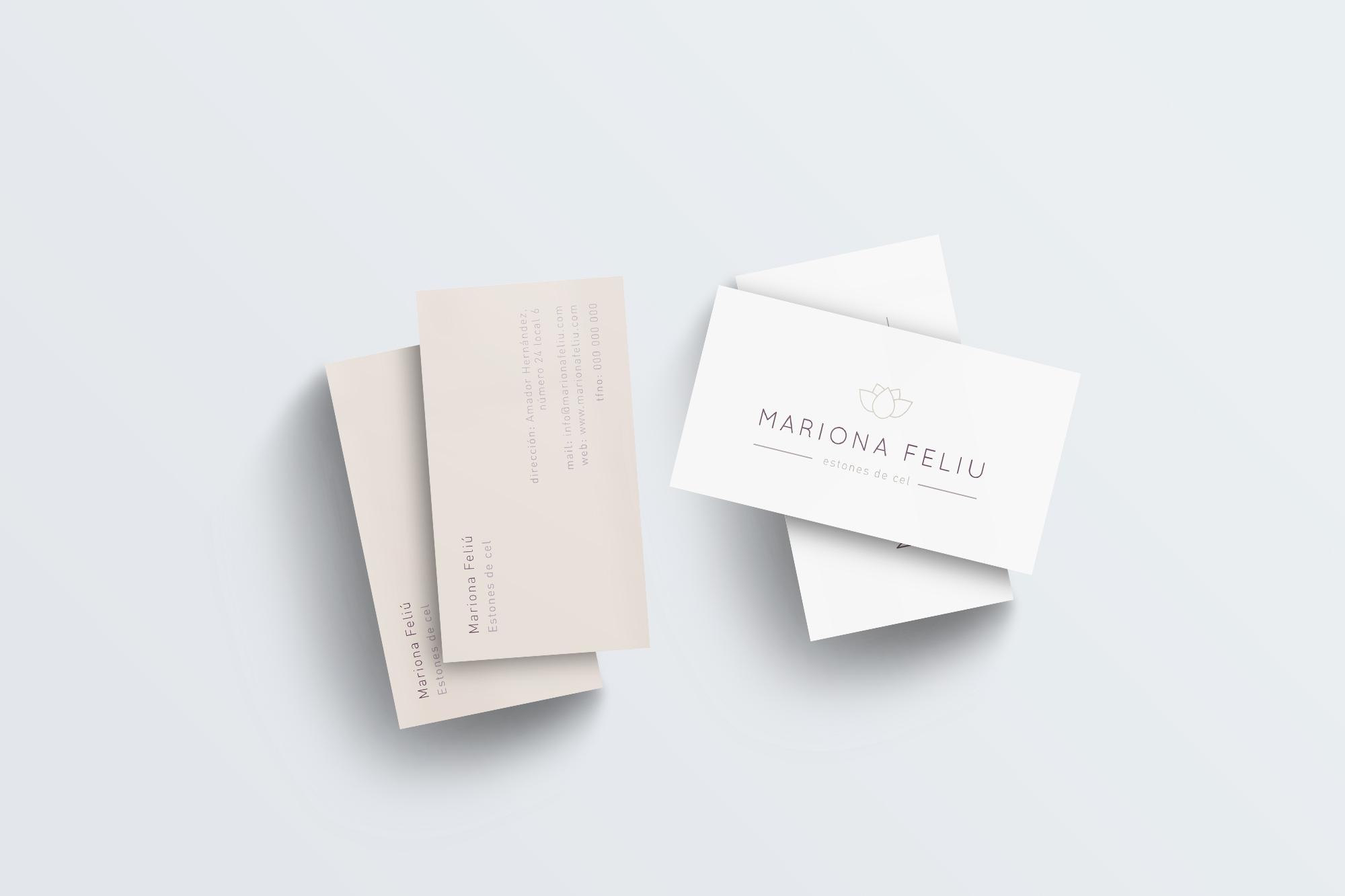 Mockup-Mariona-Feliu-tarjetas-diseño-imagen-corporativa
